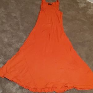 Orange Sunkist dress